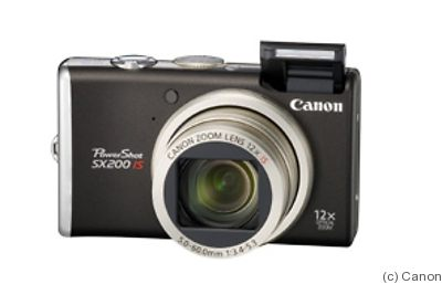 Canon: PowerShot SX200 IS camera
