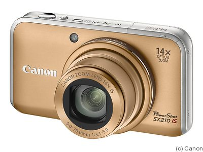 Canon: PowerShot SX210 IS camera