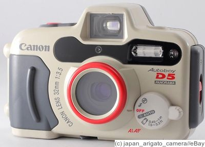 Canon: Sure Shot A-1 Panorama (Autoboy D5 Panorama) camera