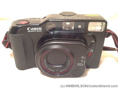 Canon: Sure Shot Tele (Top Twin / Autoboy Tele) QD (Quartz Date) camera