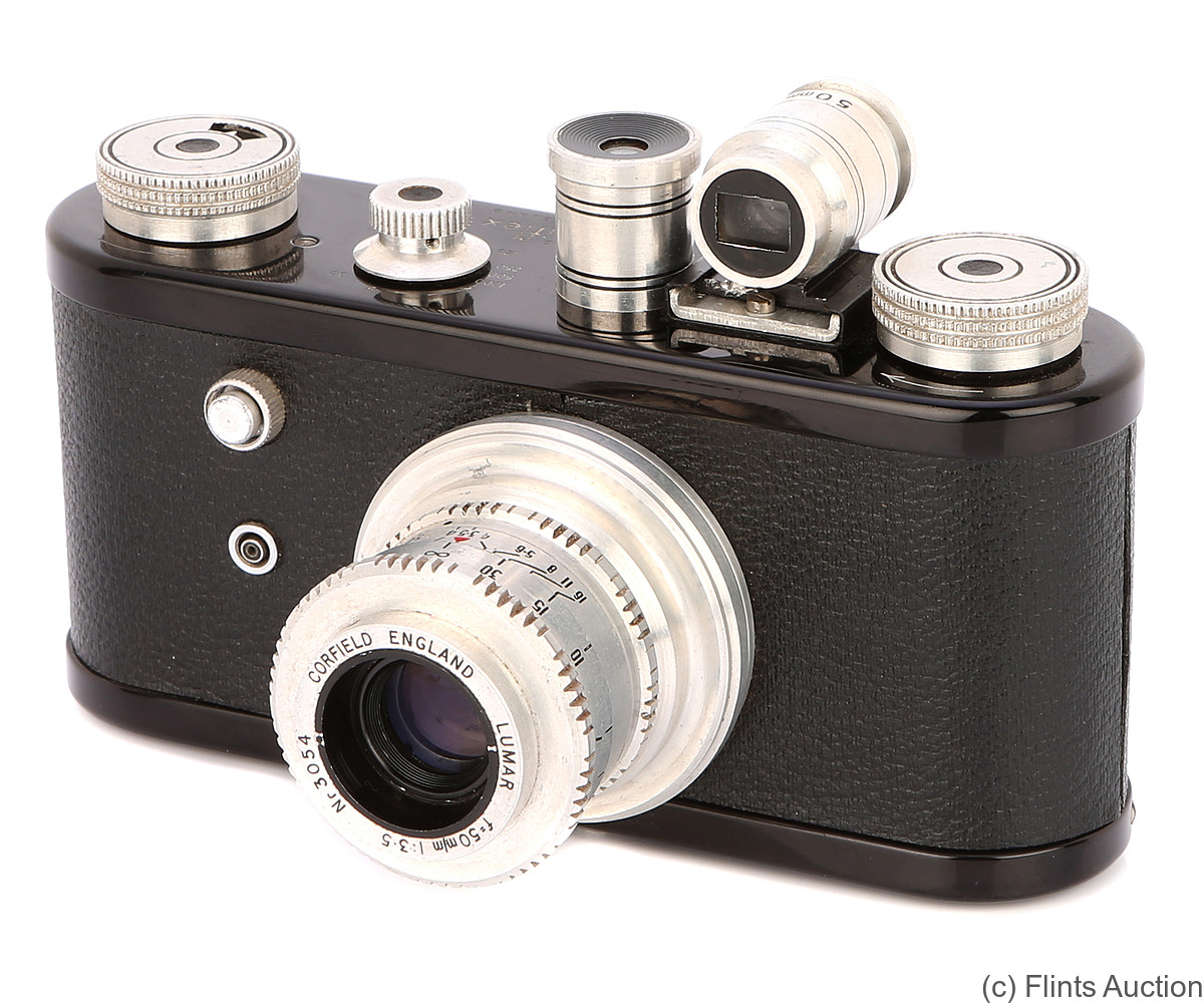 Corfield: Periflex 1 (black) camera