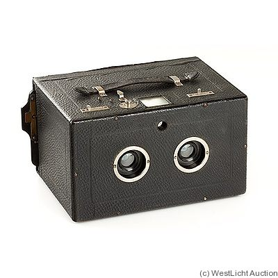 Ernemann: Dove Stereoscop (Stereobox) camera