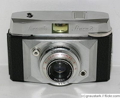 Italian vintage for 35mm film Ferrania Lince 2