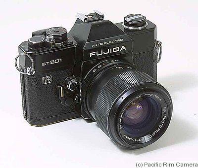 Fujica ST901 Auto Electro SLR Camera with a 1:4.5200 EBC Fuji Lens
