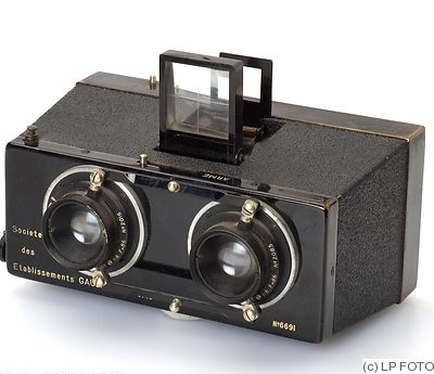 Gaumont: Stereo (Spido, Model D) camera