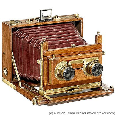 Gaumont: Stereo Chambre Folding Tropical (Field Camera) camera