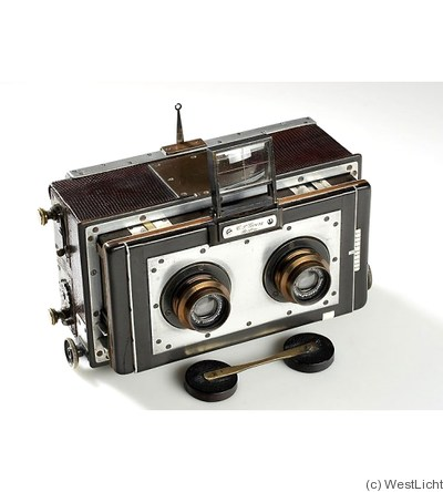 Goerz C.P.: Stereo Luxus camera