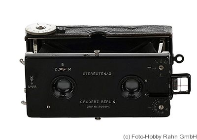 Goerz C.P.: Stereo Pocket Tenax camera