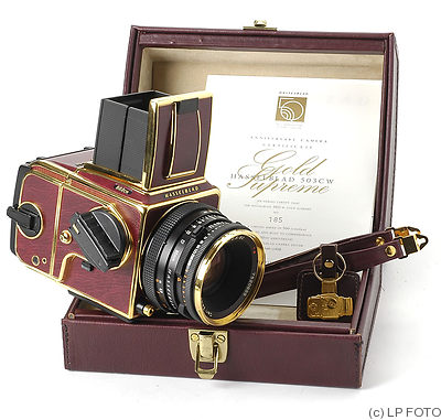 Hasselblad: 503 CW 'Gold Supreme' (50th Anniversary) camera
