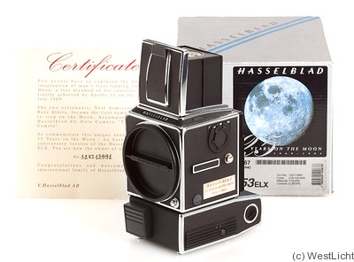 Hasselblad: 553 ELX '25 Years on the Moon' camera