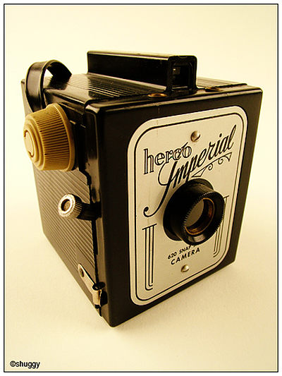 Herbert George: Herco Imperial (620 Snap Shot) camera