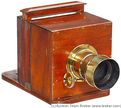 Horne Thornthwaite Wet Plate Sliding Box Camera Price Guide