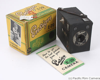 Houghton: Ensign E29 (box) camera