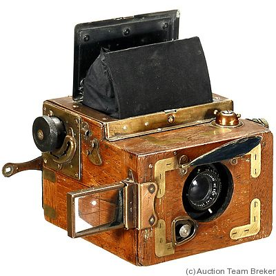 Houghton: Ensign Focal Plane Rollfilm Reflex Tropical camera