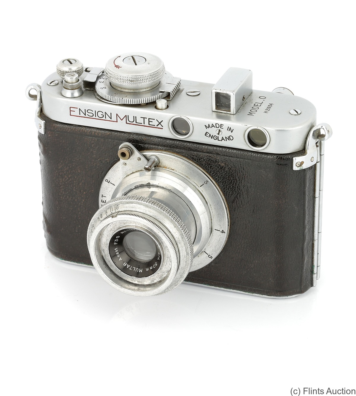 Houghton: Ensign Multex (No.0) camera