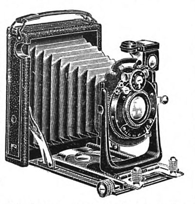Houghton: Folding Klito De Luxe camera
