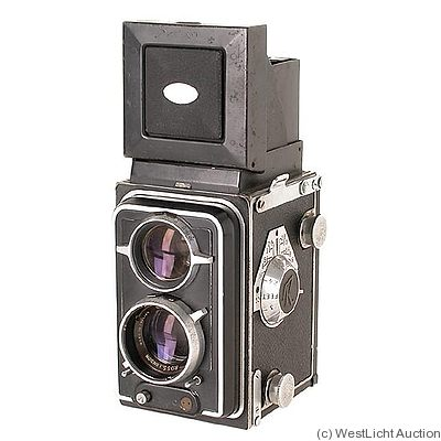 Houghton: Twin Lens Reflex (TLR) Prototype camera