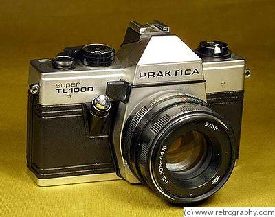 Kw kamerawerkstatten : praktica super tl 1000 price guide: estimate