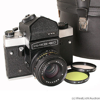 Kiev Arsenal: Kiev 60 TTL-Set camera