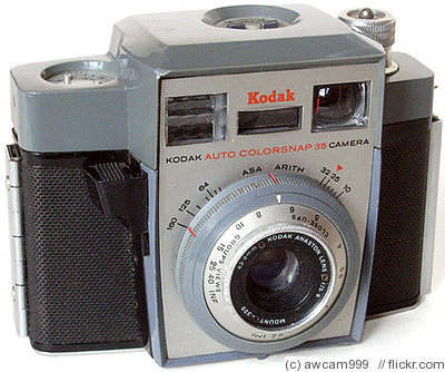 Kodak Eastman: Auto Colorsnap 35 camera