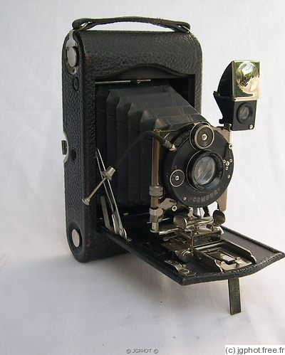 Kodak Eastman: Autographic No.3 Model H camera