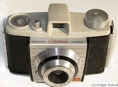 Kodak Eastman: Bantam Colorsnap camera