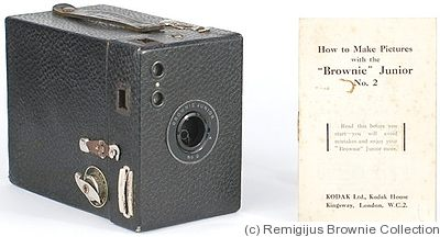 Kodak Eastman: Brownie Junior No.2 camera