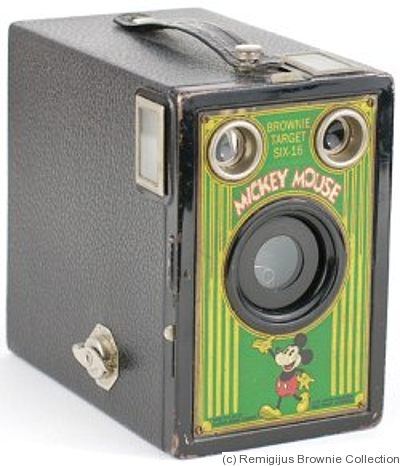 Kodak Eastman: Brownie Target Six-16 (US) (Mickey Mouse) camera