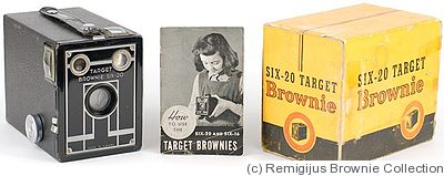 Kodak Eastman: Brownie Target Six-20 (Canadian) camera