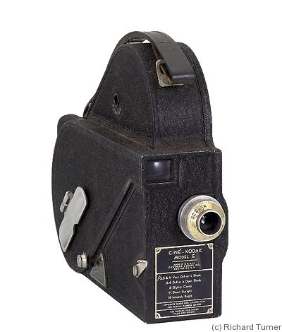 Kodak Eastman: Cine model E camera