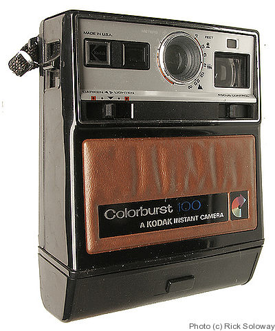 Kodak Eastman: Colorburst 100 camera