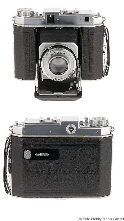 Kodak Eastman: Duo Six-20 Series II RF camera