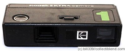 Kodak Eastman: Ektra 1 camera