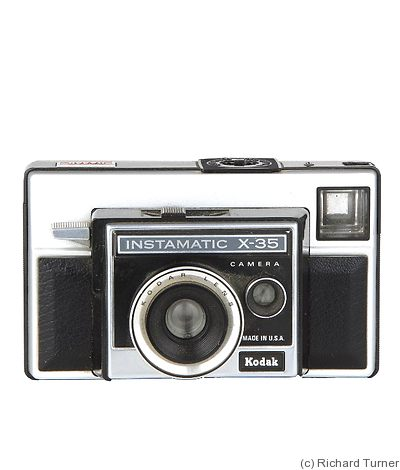 Kodak Eastman: Instamatic X-35 camera