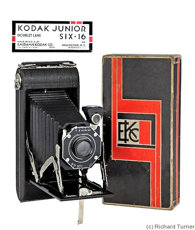 Kodak Eastman: Junior Six 16 camera