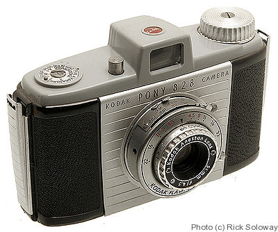 Kodak Eastman: Pony 828 camera