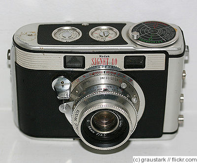 Kodak Eastman: Signet 40 camera