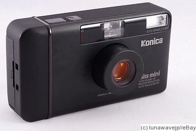 Konishiroku (Konica): Big Mini BM 301 (black) camera