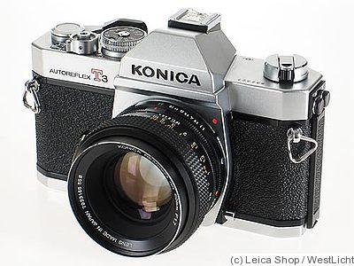 422 Auto Sales >> Konishiroku (Konica): Konica Autoreflex T3 Price Guide: estimate a camera value