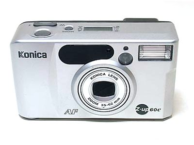 Konishiroku (Konica): Z-up 60e (Fantasio 60z) camera