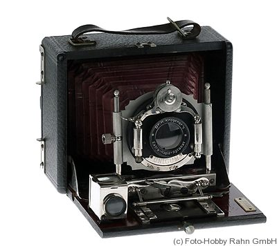 Krügener: Delta Klapp (Folding, Teddy, 1905) camera