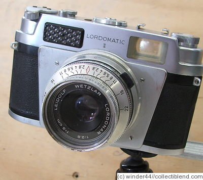 Leidolf: Lordomatic II camera