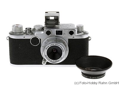 Leitz: Leica IIf sharkskin camera
