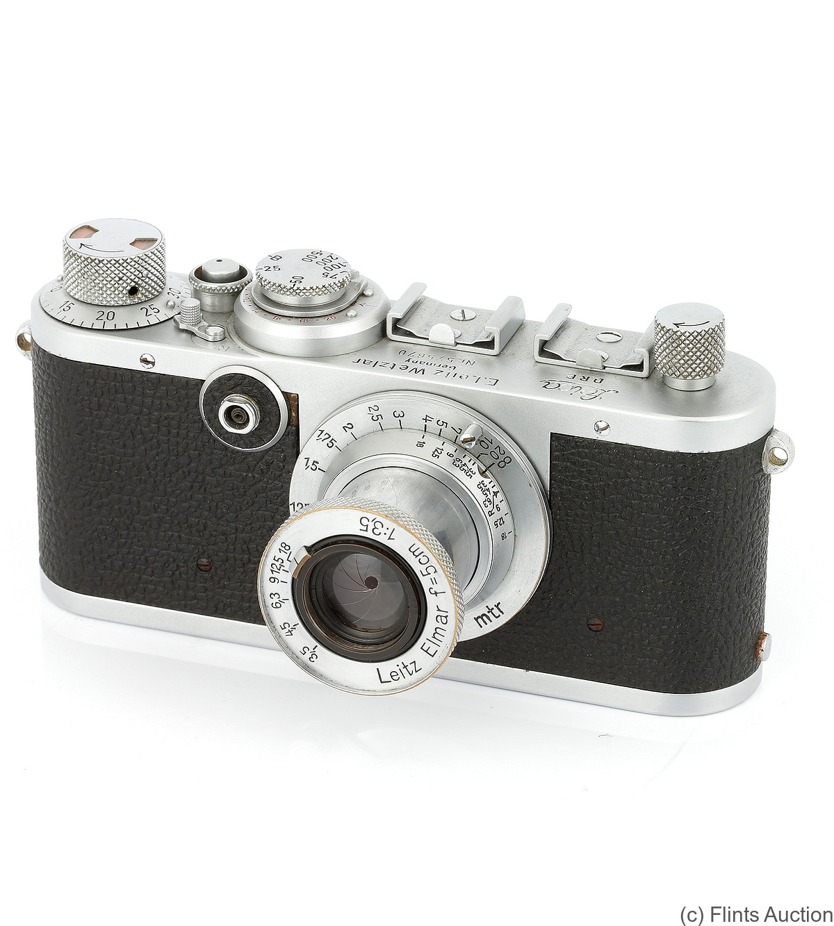 Leitz: Leica If (red dial) camera