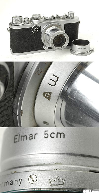 Leitz: Leica If Swedish Military (3 crowns) camera