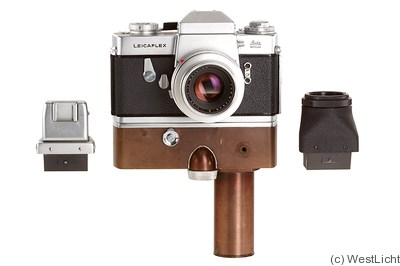 Leitz: Leicaflex Prototype (removable finder, w/motor) camera
