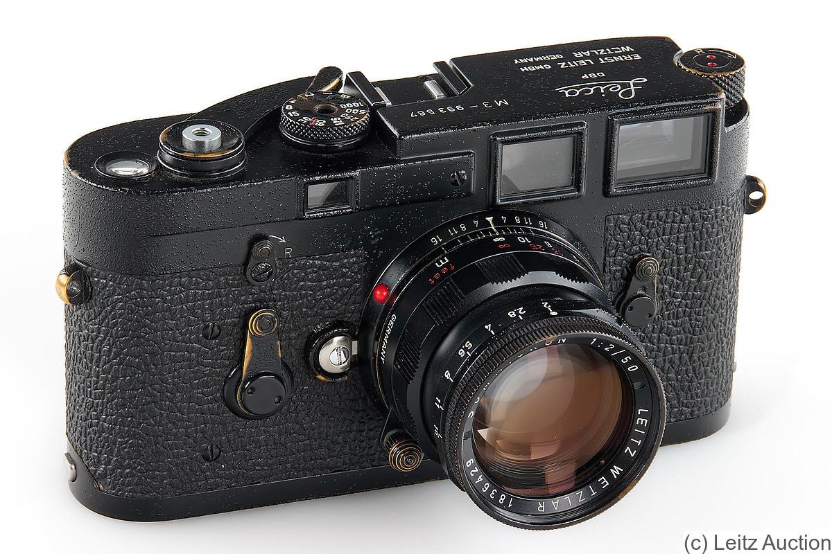 Leitz: M3 black paint Price Guide: estimate a camera value