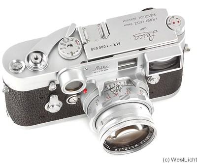 Leitz: M3 chrome (1000000) Price Guide: estimate a camera value