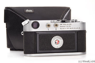 Leitz: Leica M4 'French Airforce' camera