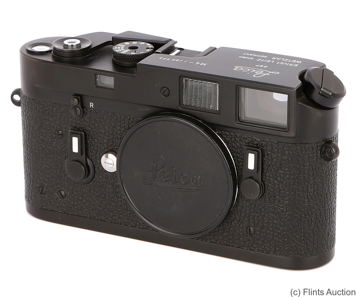 Leitz: Leica M4 black/chrome camera